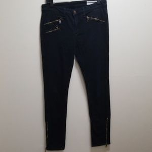 Rag & Bone skinny oants zipper leg-29
